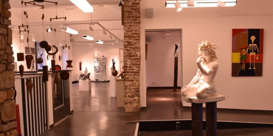 Le Centre des Métiers d'Art La Spirale de Natoye réouvre ses portes