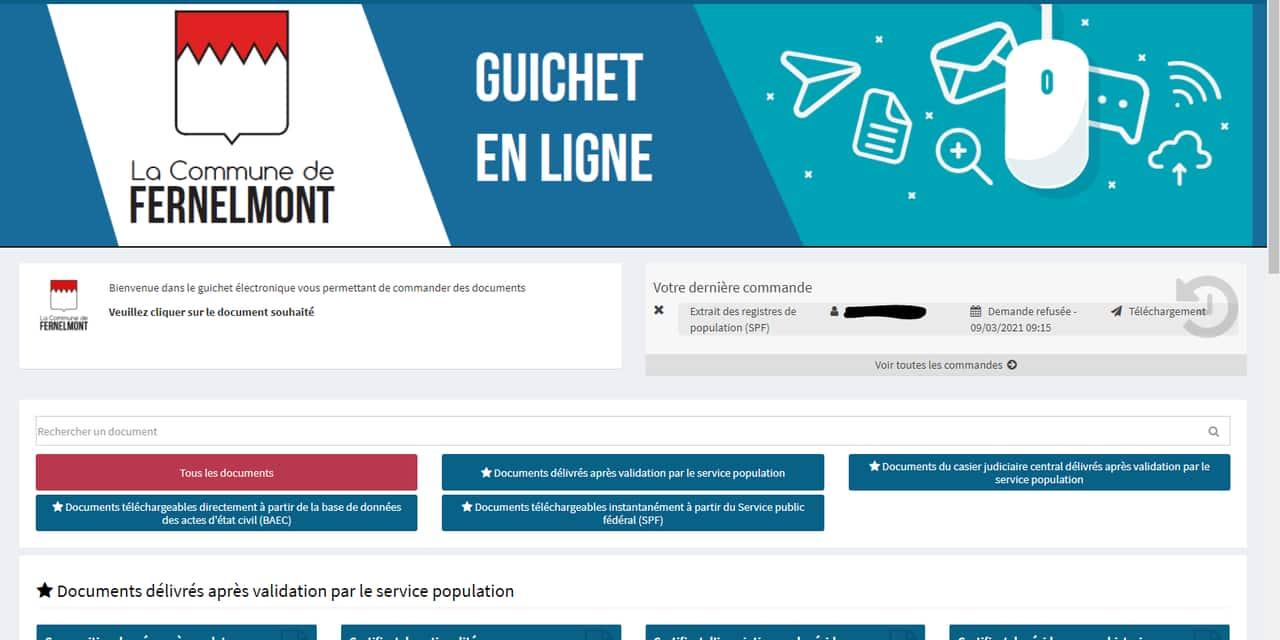 Fernelmont : la commune lance un guichet en ligne