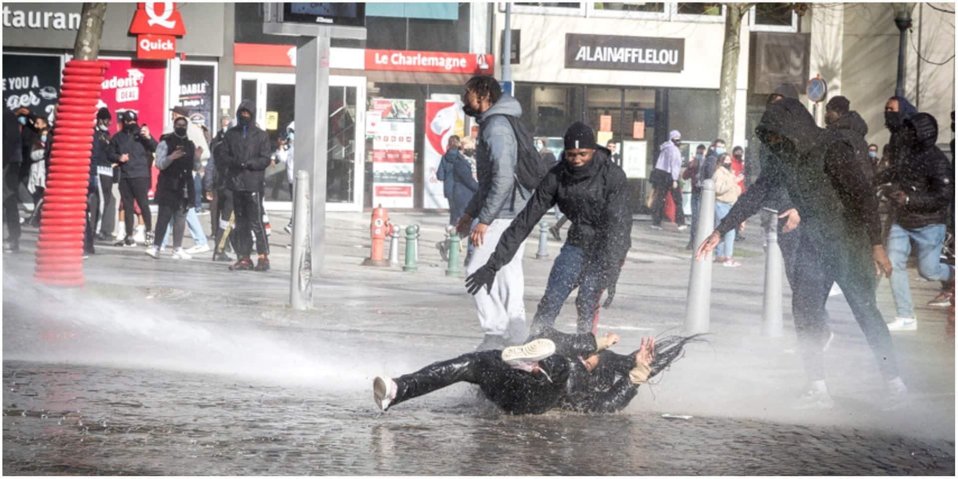"""""""Un déferlement de violence"""" sur le centre-ville de Liège: le point sur ce que l'on sait"""