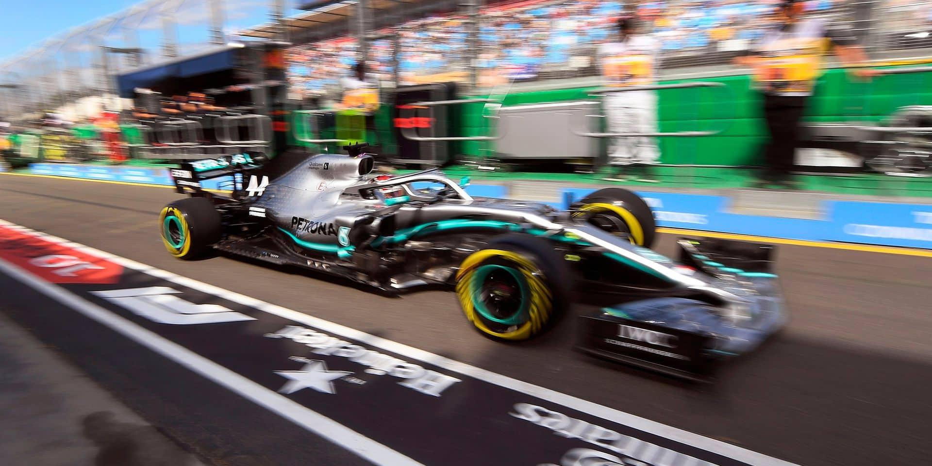 Mercedes loin devant Red Bull, Ferrari cache son jeu