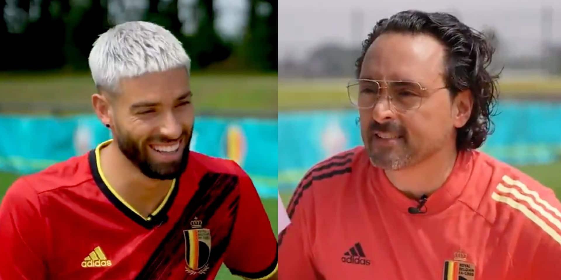 """""""Et mettre du Tipex sur tes cheveux, cela n'abîme pas ta coupe?"""": Pablo Andres charrie Carrasco avant l'Euro (VIDEO)"""