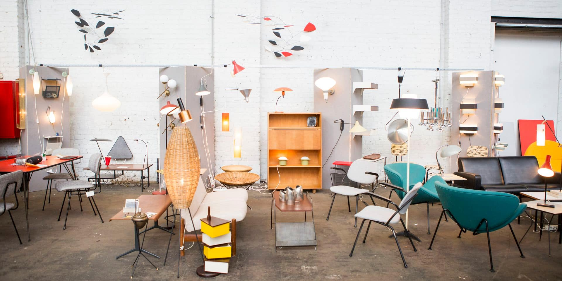 """Brussels Design Market : Le """"plus grand marché de design vintage en Europe"""" bientôt de retour"""