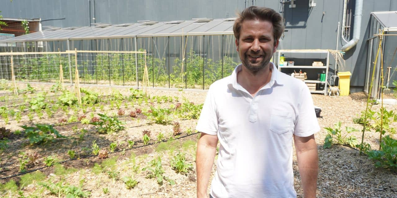 Le Carrefour Market de Genval lance son propre potager en permaculture