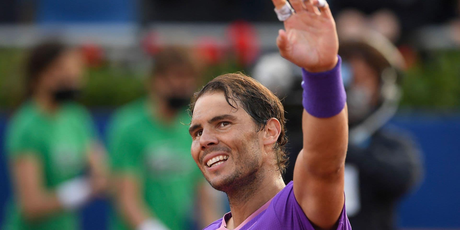 ATP Barcelone : Rafael Nadal file en huitièmes de finale dans la douleur