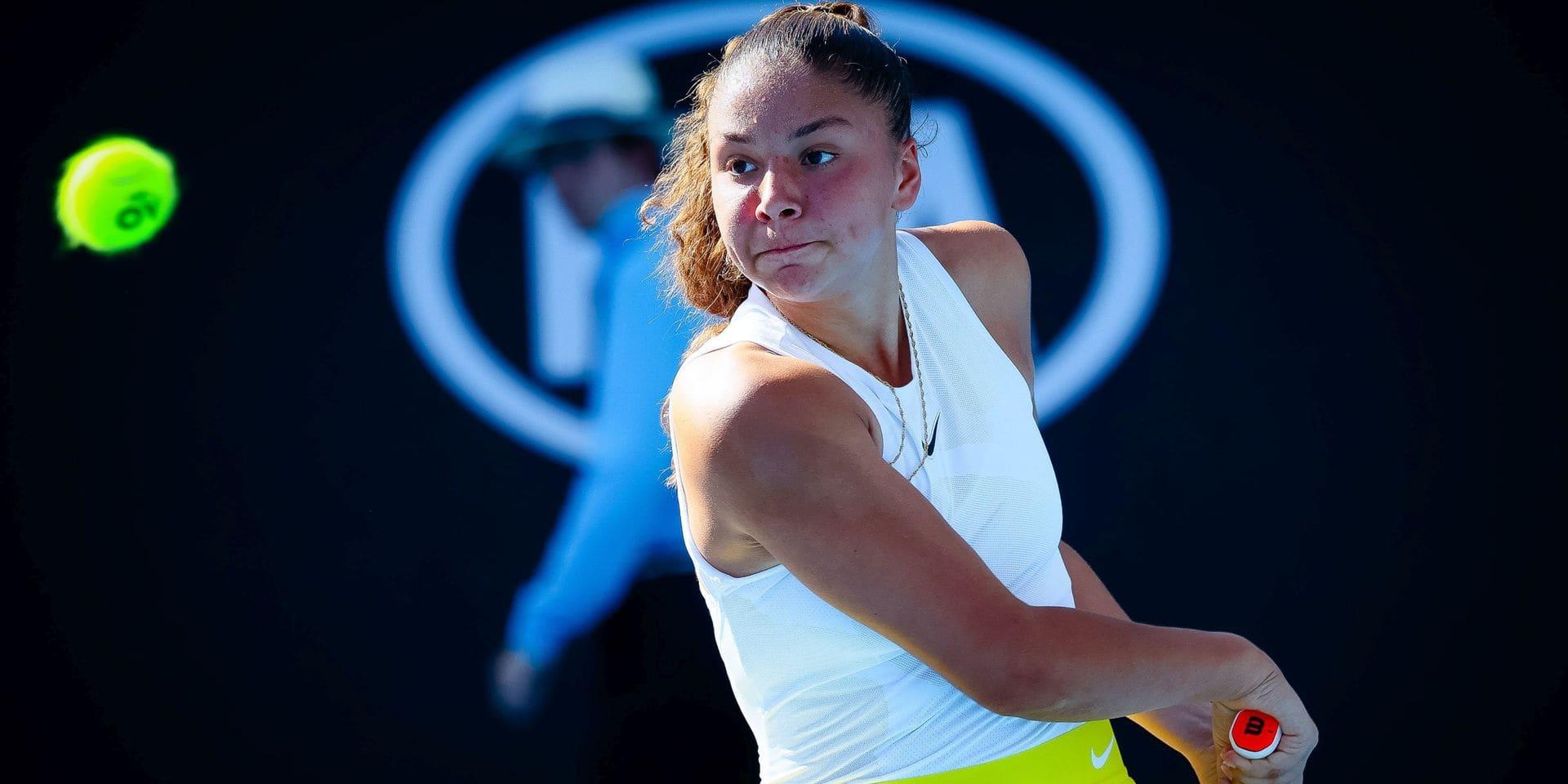 Wimbledon : Sofia Costoulas battue en finale du double juniores
