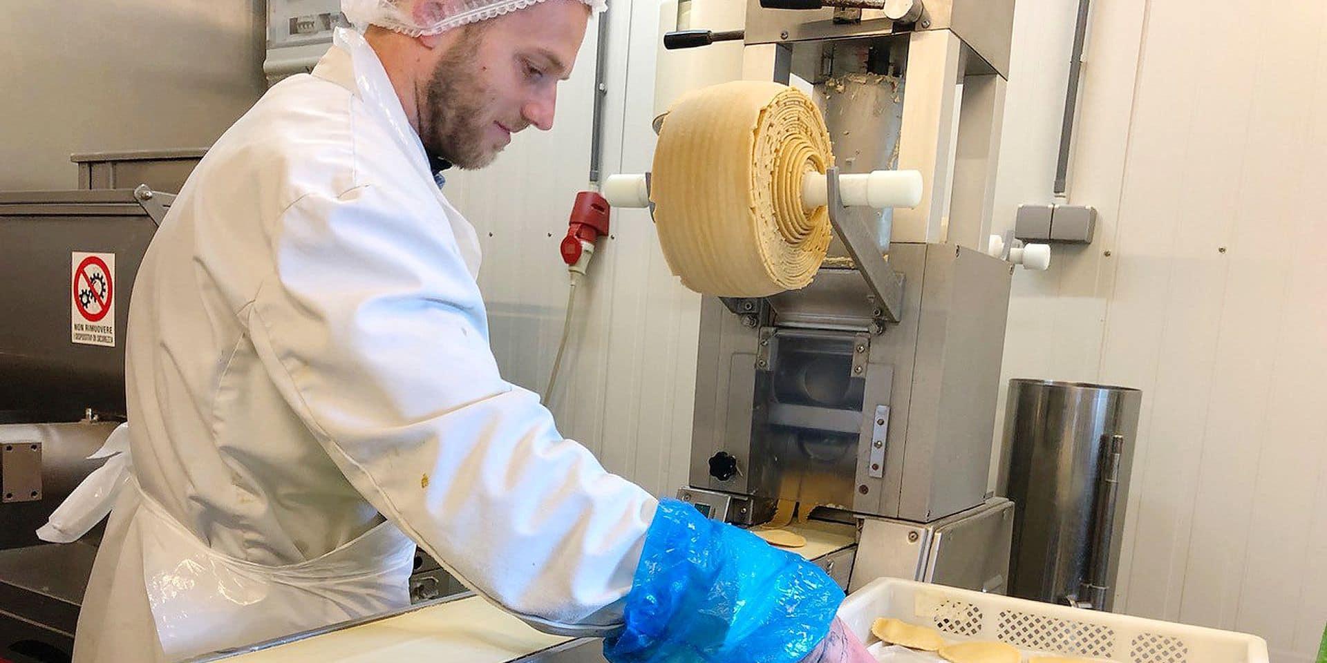 Waterloo : les ravioles des 7 Fontaines s'exportent aux Pays-Bas, en Espagne et en Allemagne