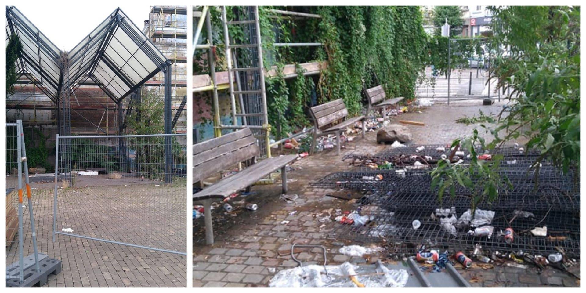 Anderlecht : Le chantier sur le terrain abandonné et jonché par les détritus va enfin reprendre