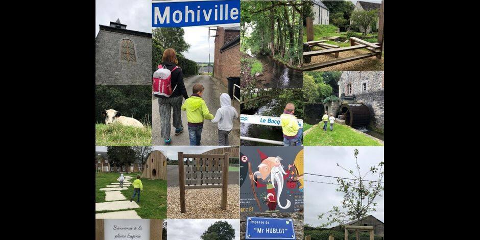 """Une nouvelle balade-jeu """"Mes Aventures d'Enchanteur"""" dans le village de Mohiville"""