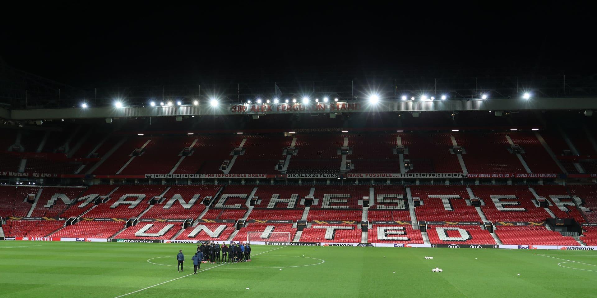 Les finances de Manchester United fortement impactées par la crise de coronavirus