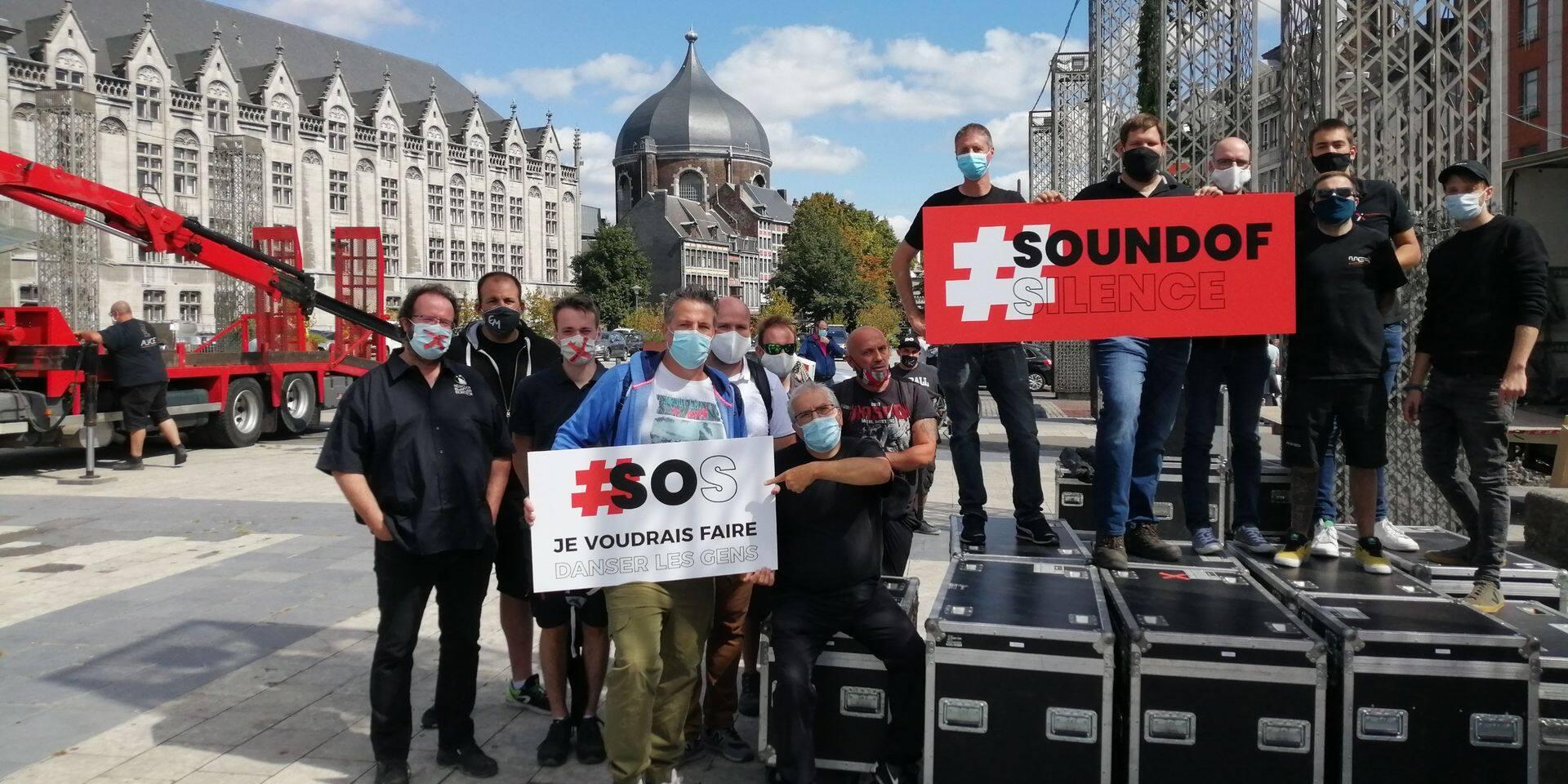 Le cri silencieux de l'événementiel liégeois