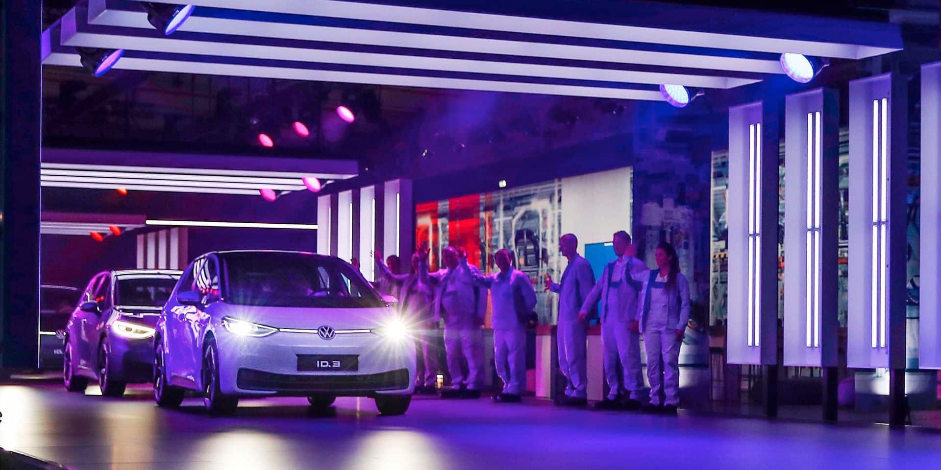 La première ID 3 est sortie cette semaine: une autre génération de Volkswagen est née