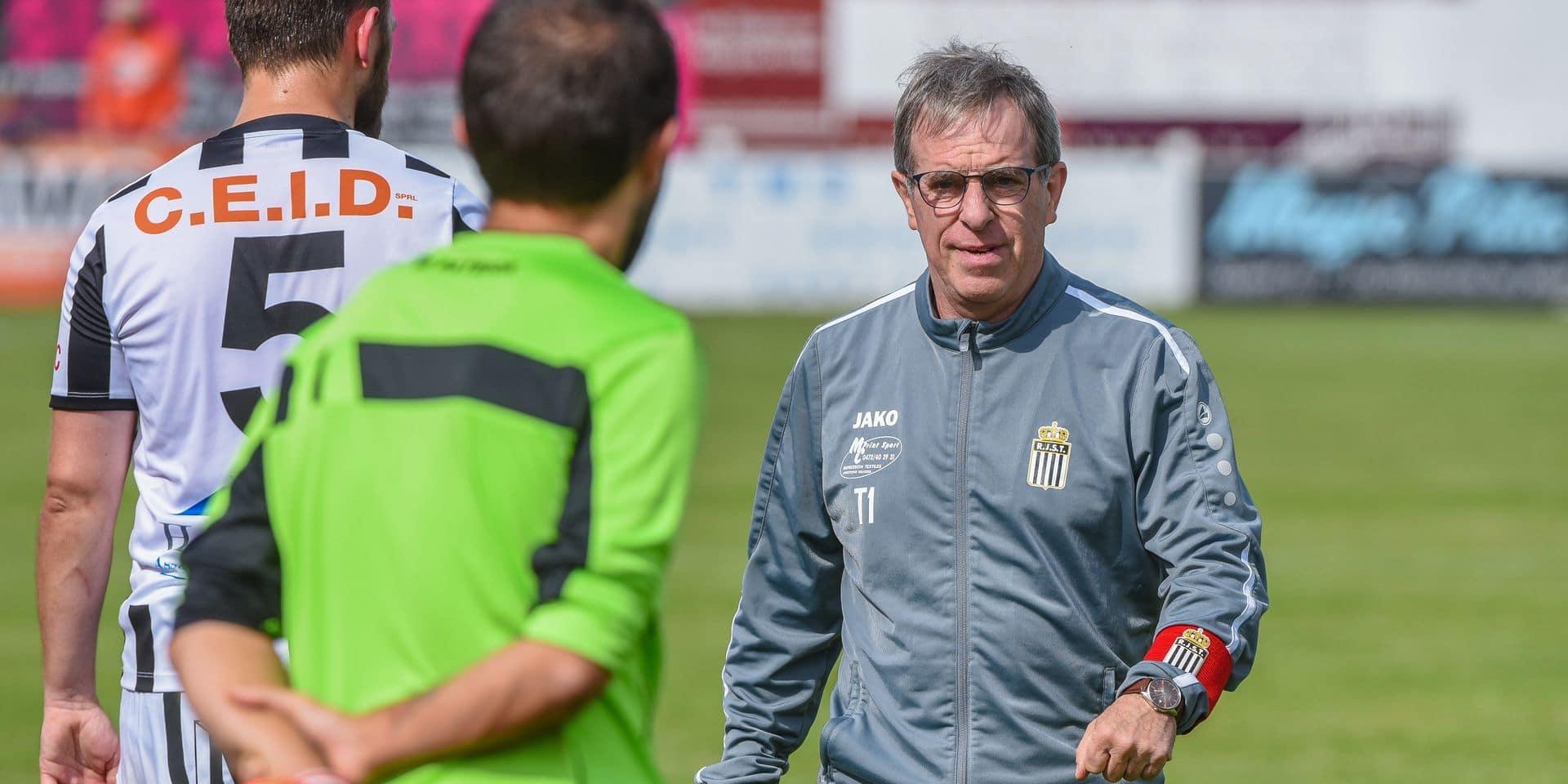 """Jean-Claude Baudart (Tamines): """"Notre équipe n'est pas construite pour le top 3"""""""