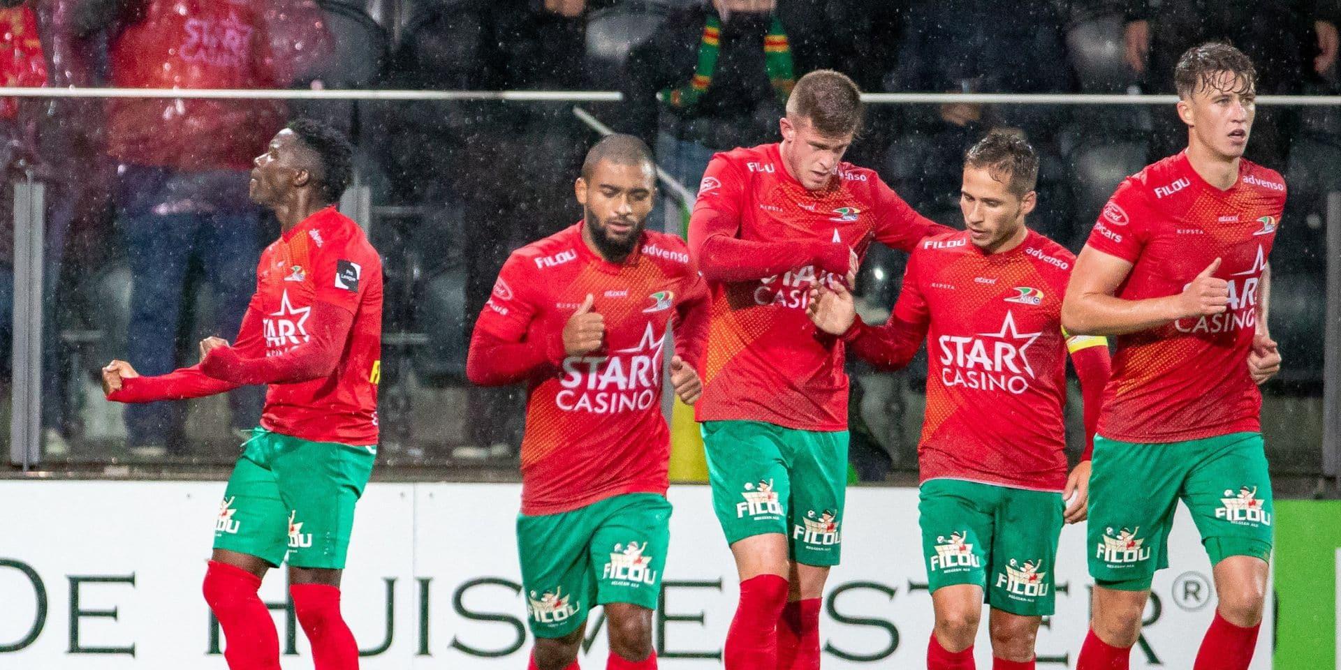 Ostende bat Mouscron, qui reste dernier