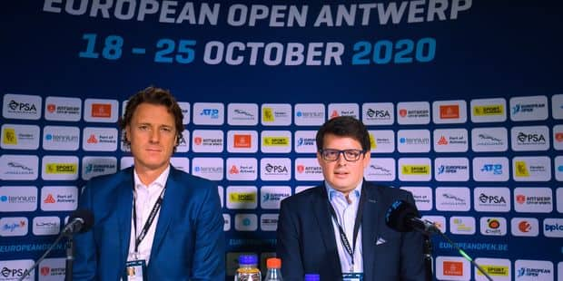 Le tournoi d'Anvers sera toujours présent au calendrier en 2021