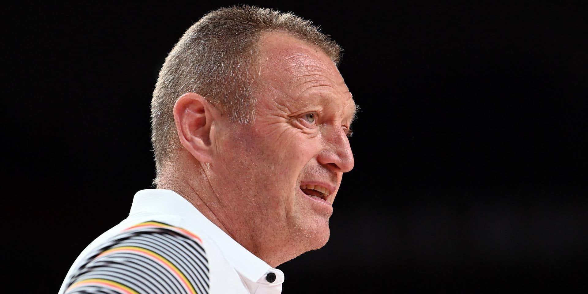 """Philip Mestdagh quitte son poste d'entraîneur des Belgian Cats: """"Le groupe a besoin d'une nouvelle voix"""""""