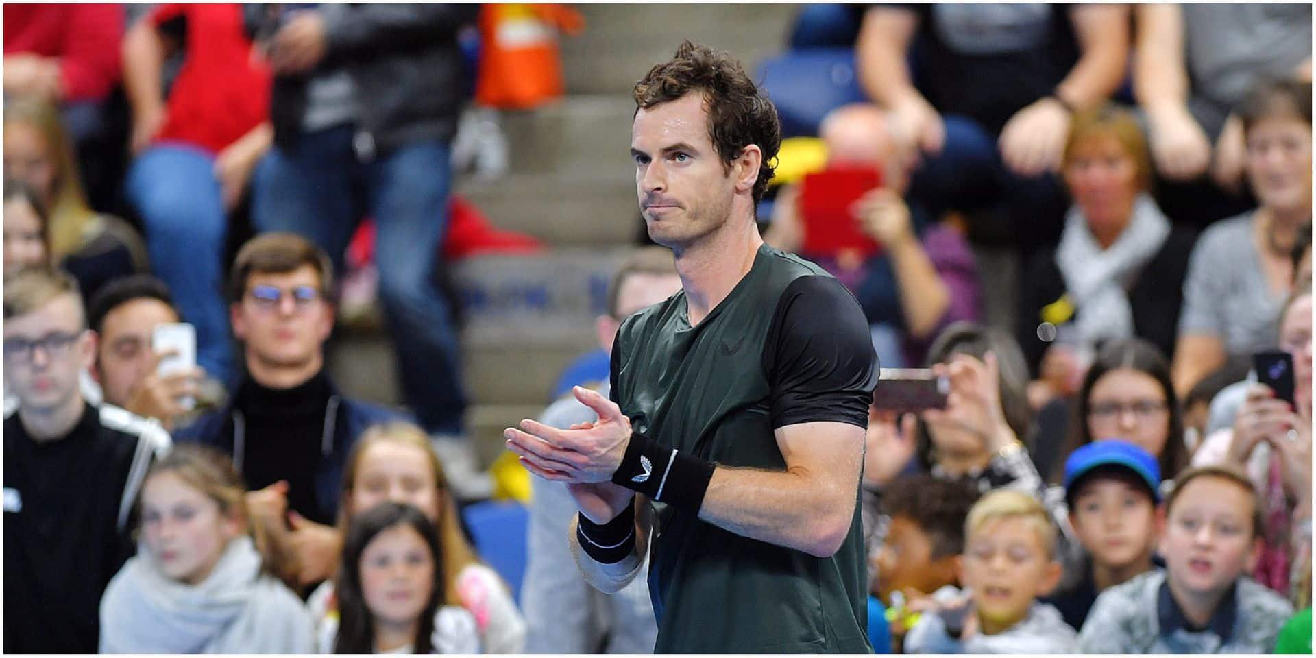 """Andy Murray est en forme à Anvers: """"Si je continue comme ça, je peux le gagner"""""""