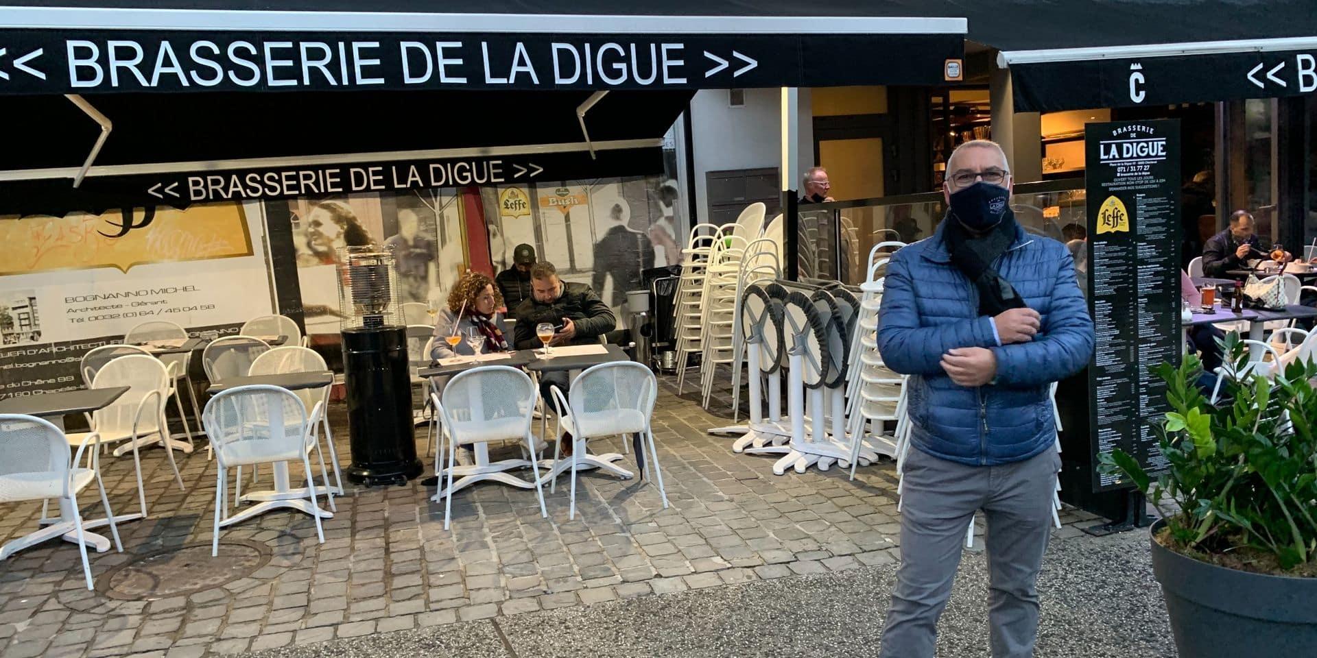 "Gaetano Italiano de la brasserie de la Digue s'indigne: ""La Wallonie a plombé le secteur horeca"""