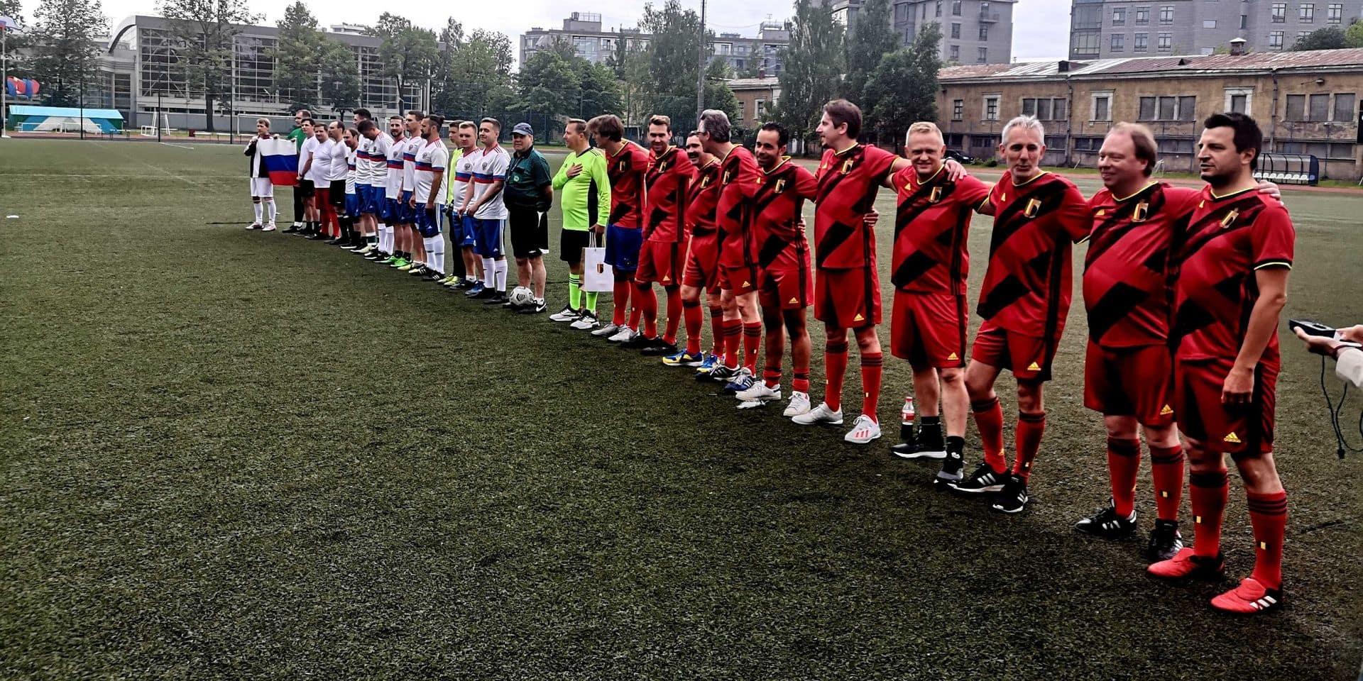 La Russie a déjà battu la Belgique dans un match... entre supporters