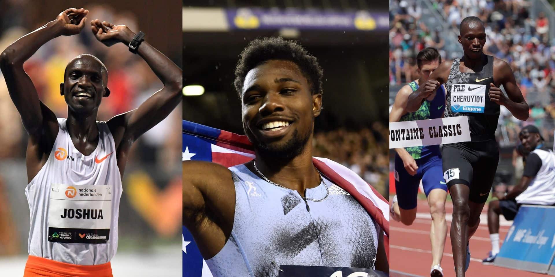 World Athletics révèle les dix nominés pour le titre d'athlète masculin de l'année 2020