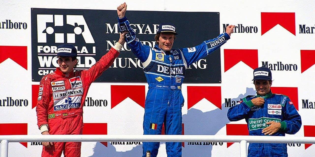 """Boutsen devant Senna en Hongrie il y a 30 ans: """"J'ai gagné et dominé tous les géants de F1 ce jour-là"""""""