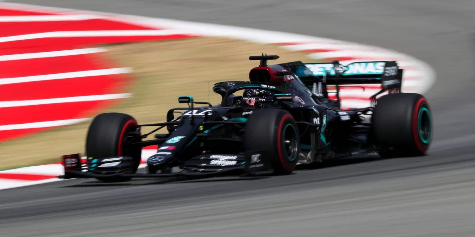 GP d'Espagne (Qualifs): Nouvelle domination des Mercedes et nouvelle pole de Hamilton !