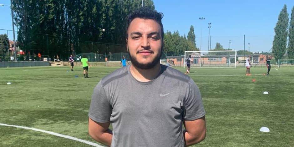 """Le T1 Ilyas Boukassi est triste pour Walhain : """"Déçu de jouer en P1 mais on va tout faire pour remonter"""""""