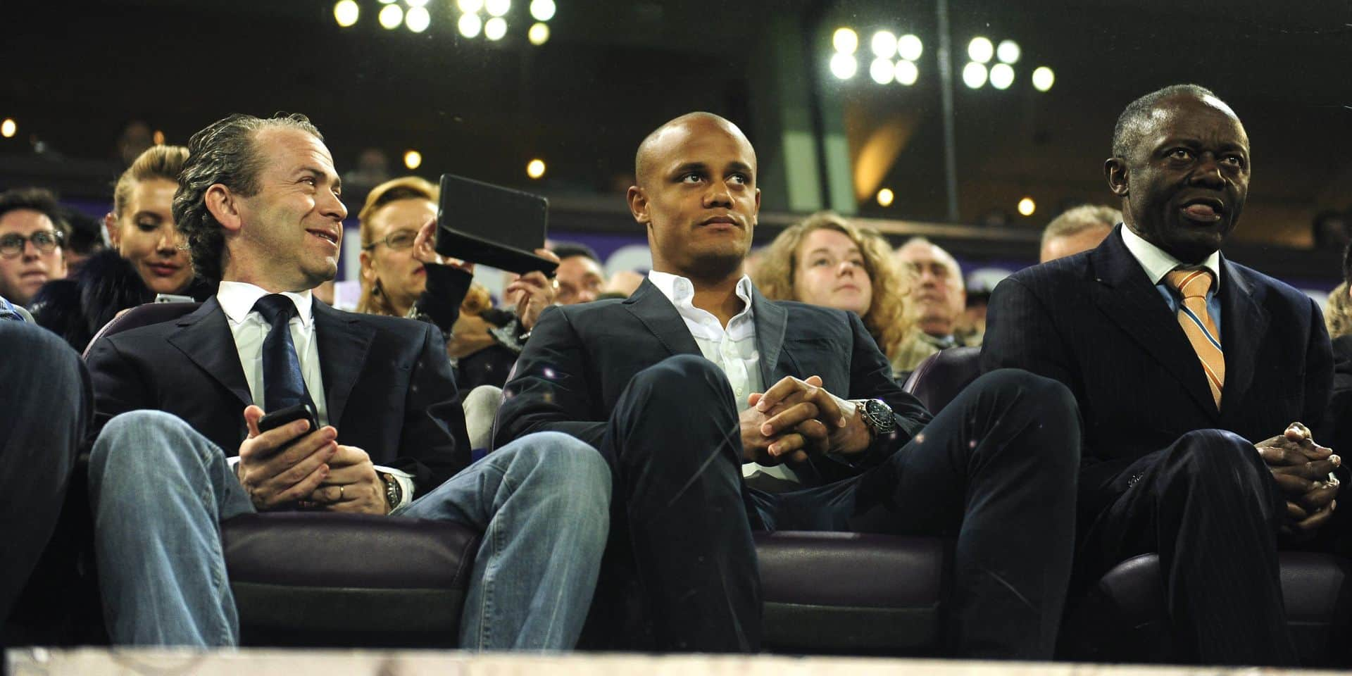 """Avec Kompany, on ne se moquera plus d'Anderlecht"""
