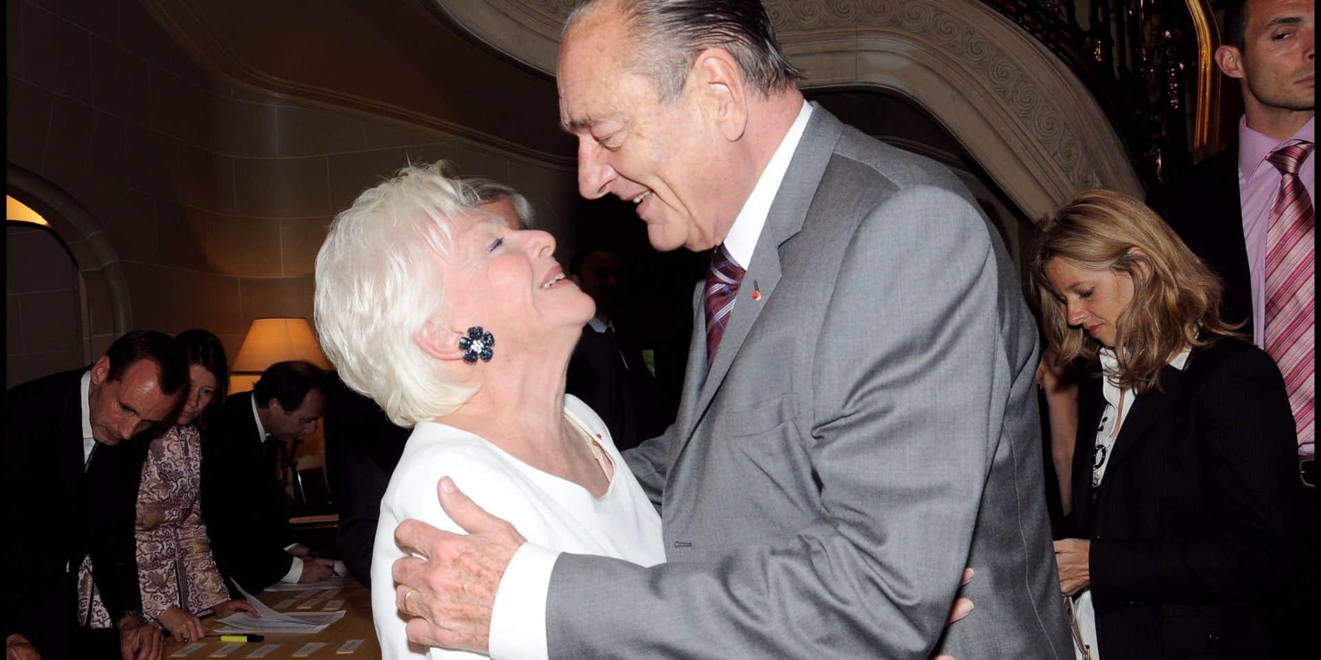 """Les larmes de Line Renaud en plein direct sur BFMTV suite à la mort de Jacques Chirac: """"C'est comme si je perdais un frère"""""""