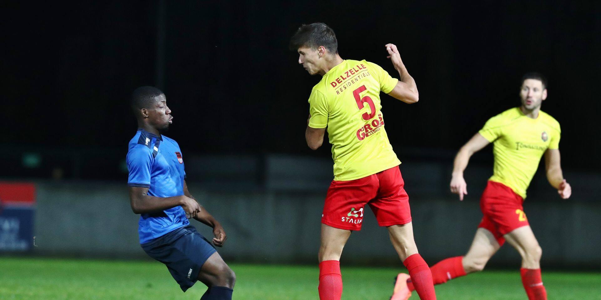 Louis Delhaye a marqué son premier but avec Tubize