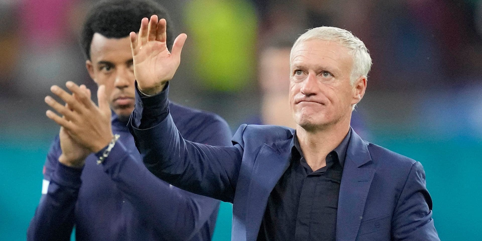"""Didier Deschamps va-t-il être démis de ses fonctions ? """"Je n'ai pas dit qu'il allait continuer"""""""
