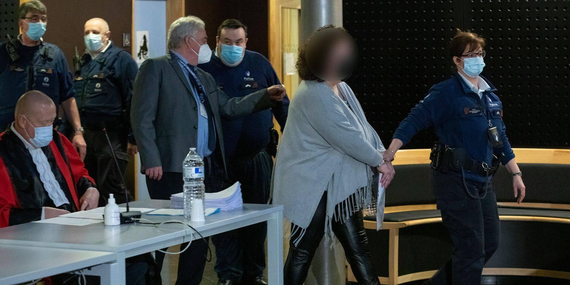 Assises Hainaut : La peine de réclusion criminelle à perpétuité réclamée contre Marjorie Leclercq