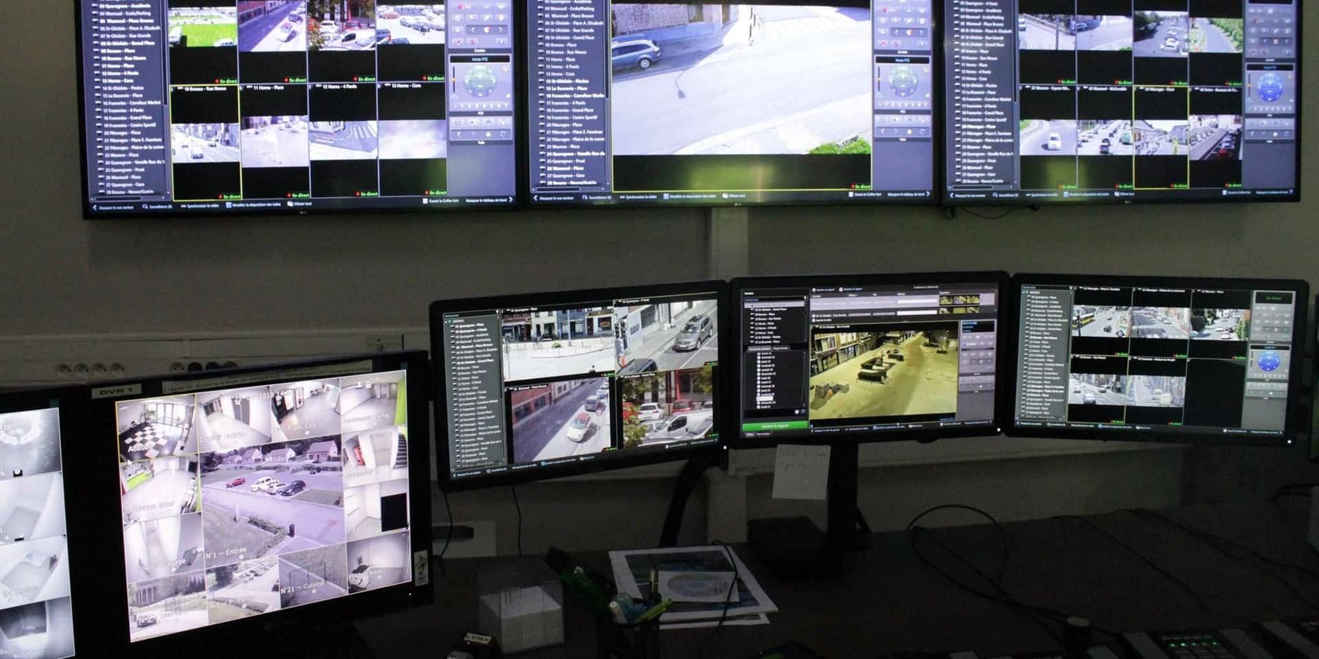 Borinage: des caméras urbaines bien utiles à la police