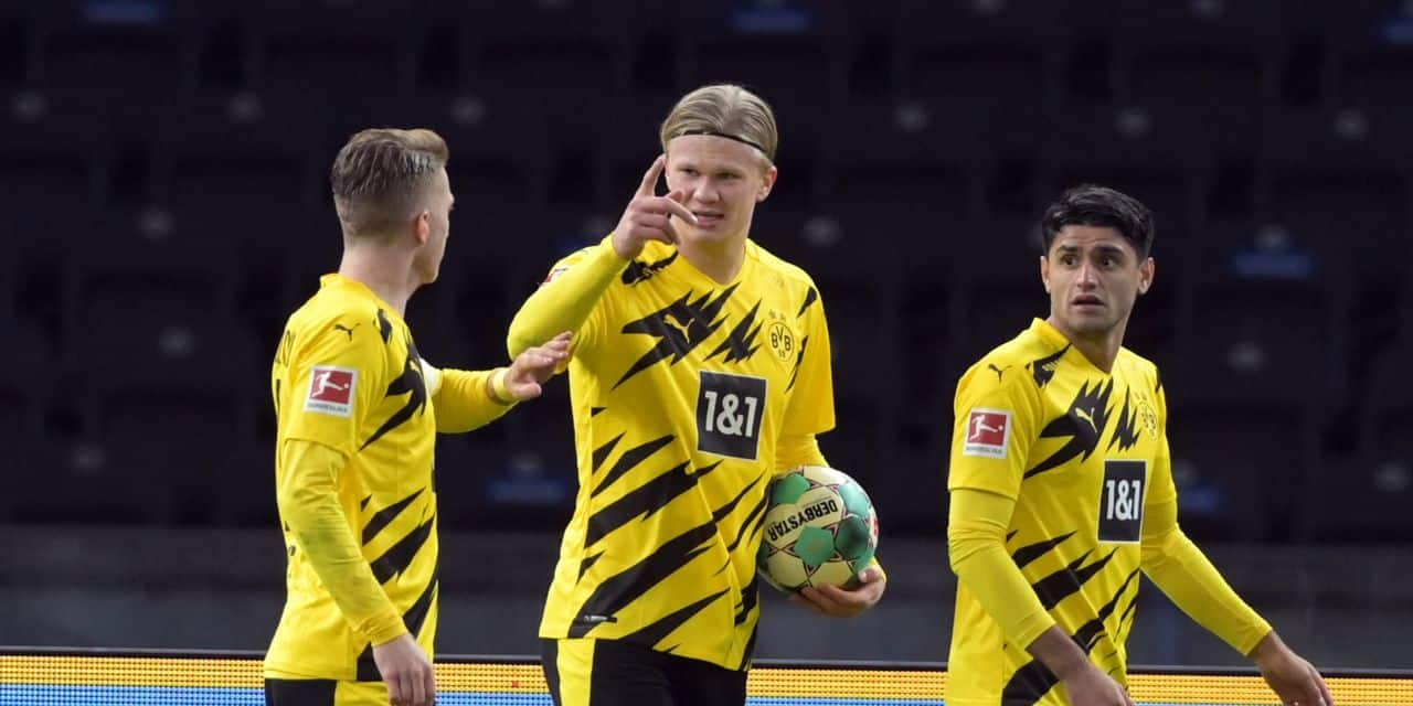 Germany Bundesliga - Hertha BSC vs Borussia Dortmund
