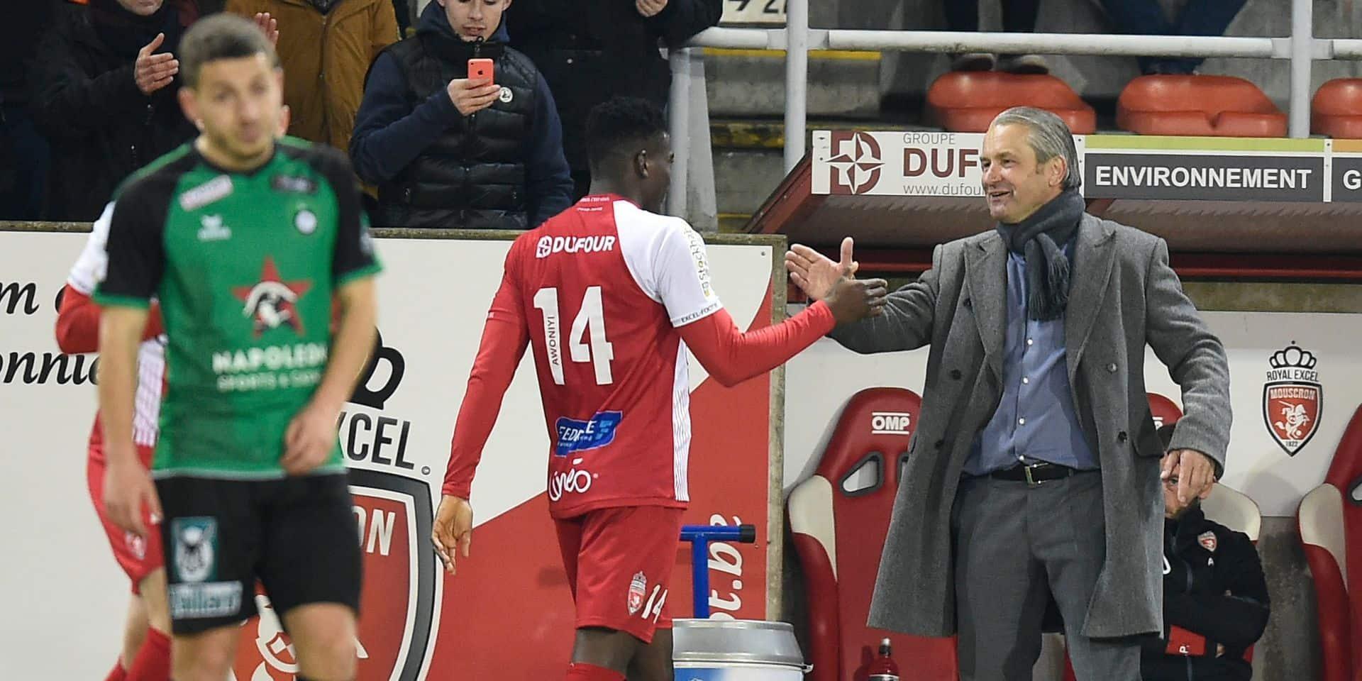 """Storck et Mouscron pleins d'ambitions: """"Nous voulons gagner les PO2"""""""