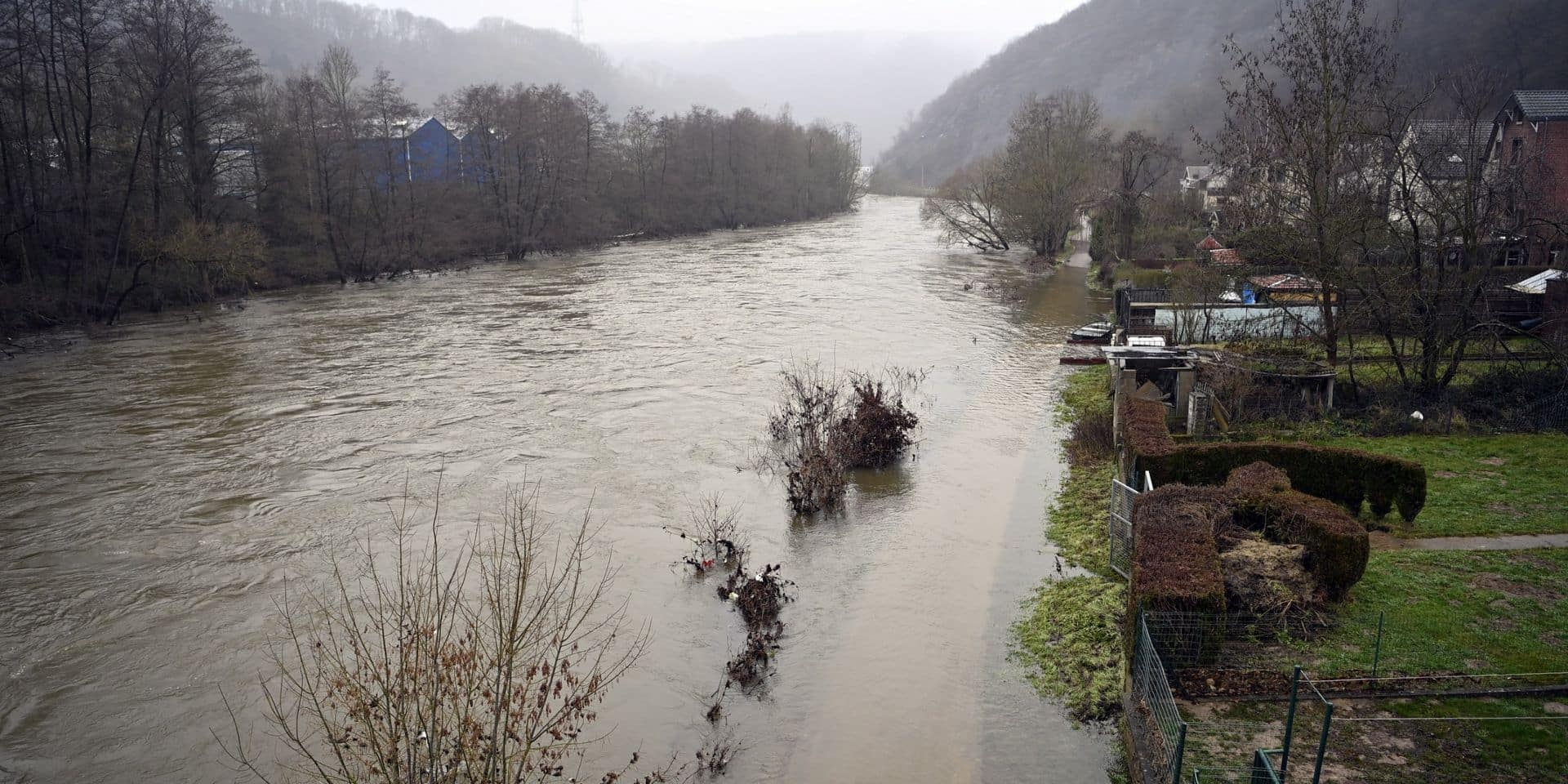 Vague de froid: le numéro 1722 activé pour un risque d'inondations dans les prochains jours