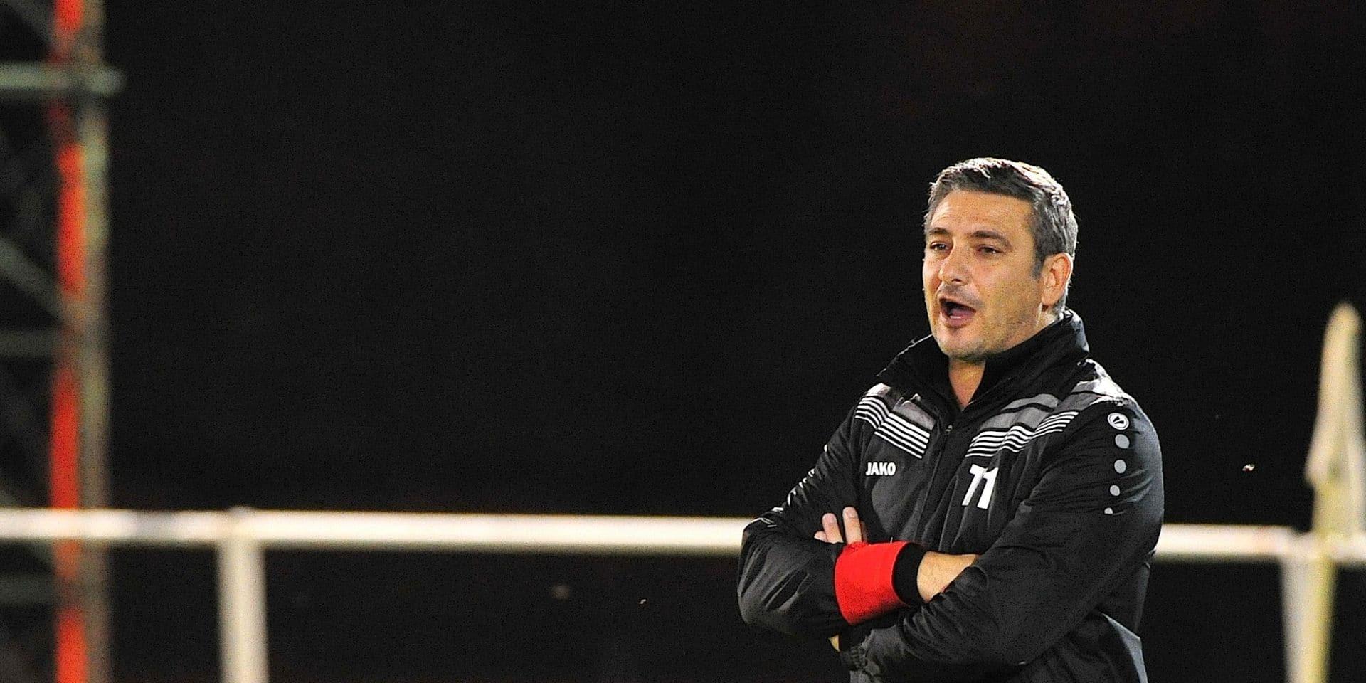 """Marco Casto après le partage de Meux à Ganshoren : """"Peu d'équipes viendront gagner ici"""""""