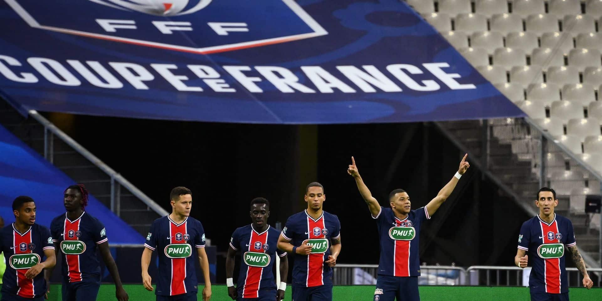 Le PSG remporte sa 14e Coupe de France