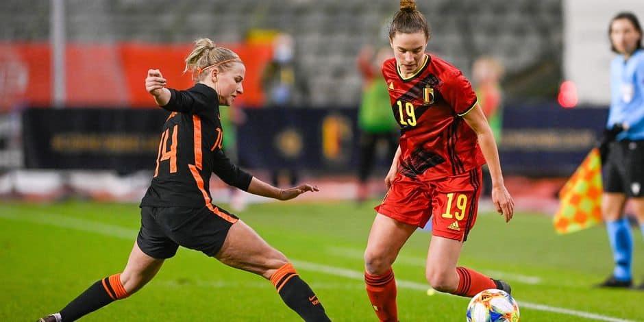 Les Red Flames surclassés par des Néerlandaises trop fortes pour elles