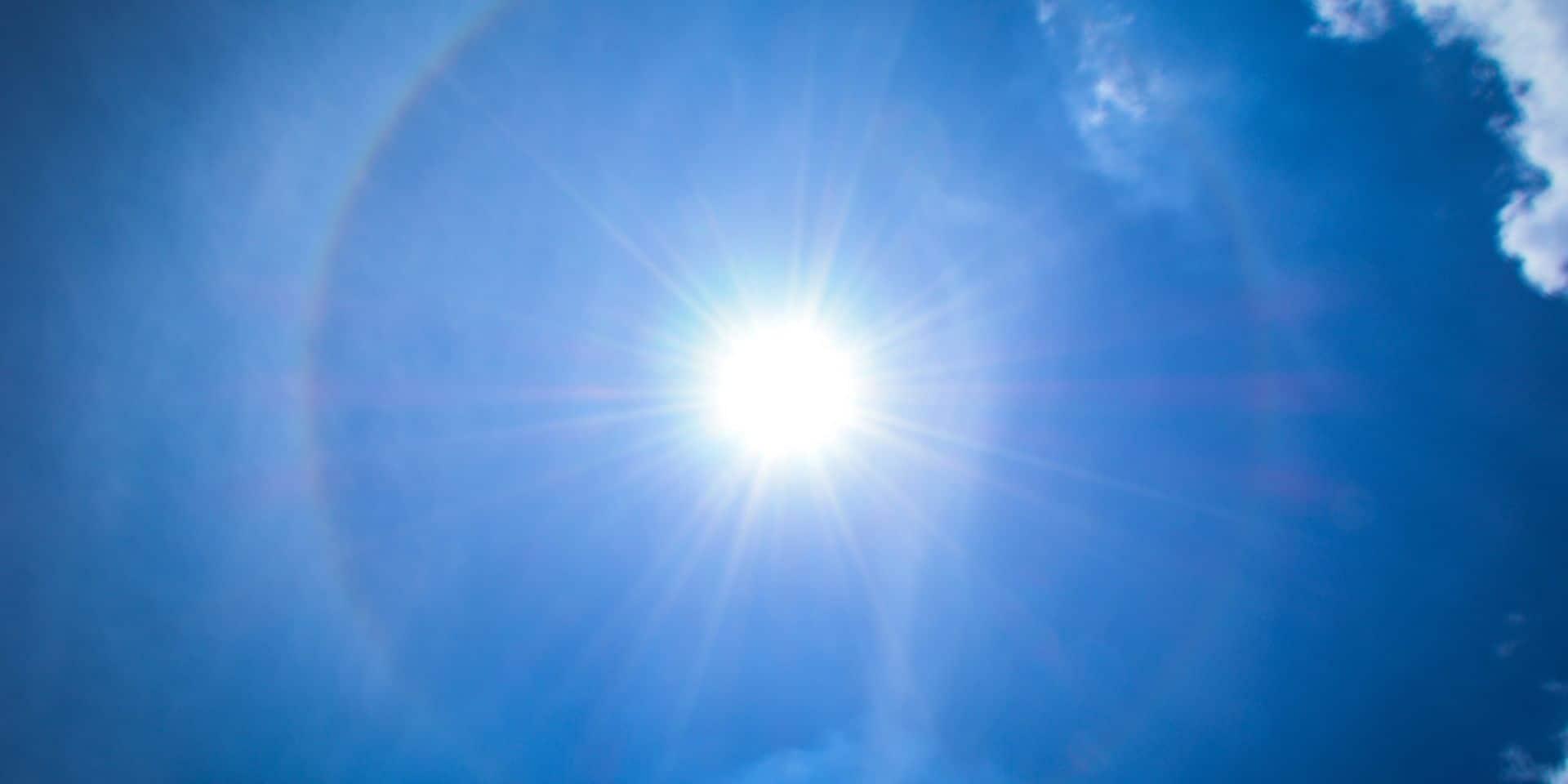 Météo: le mercure va grimper jusqu'à 33 degrés mercredi