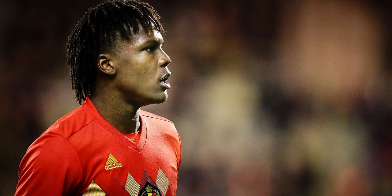 Belgium's Dedryck Boyata pictured during a friendly soccer game between Belgian national team Red Devils and Mexico, Saturday 11 November 2017, in Brugge. BELGA PHOTO VIRGINIE LEFOUR