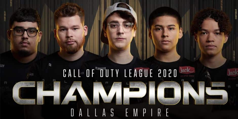 Dallas Empire remporte la Call of Duty League 2020