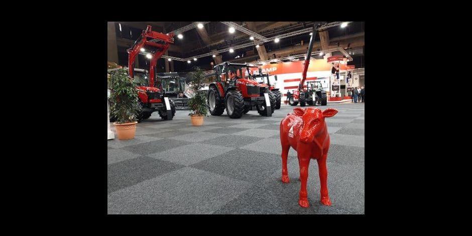 La salon agricole Agribex officiellement ouvert à Brussels Expo