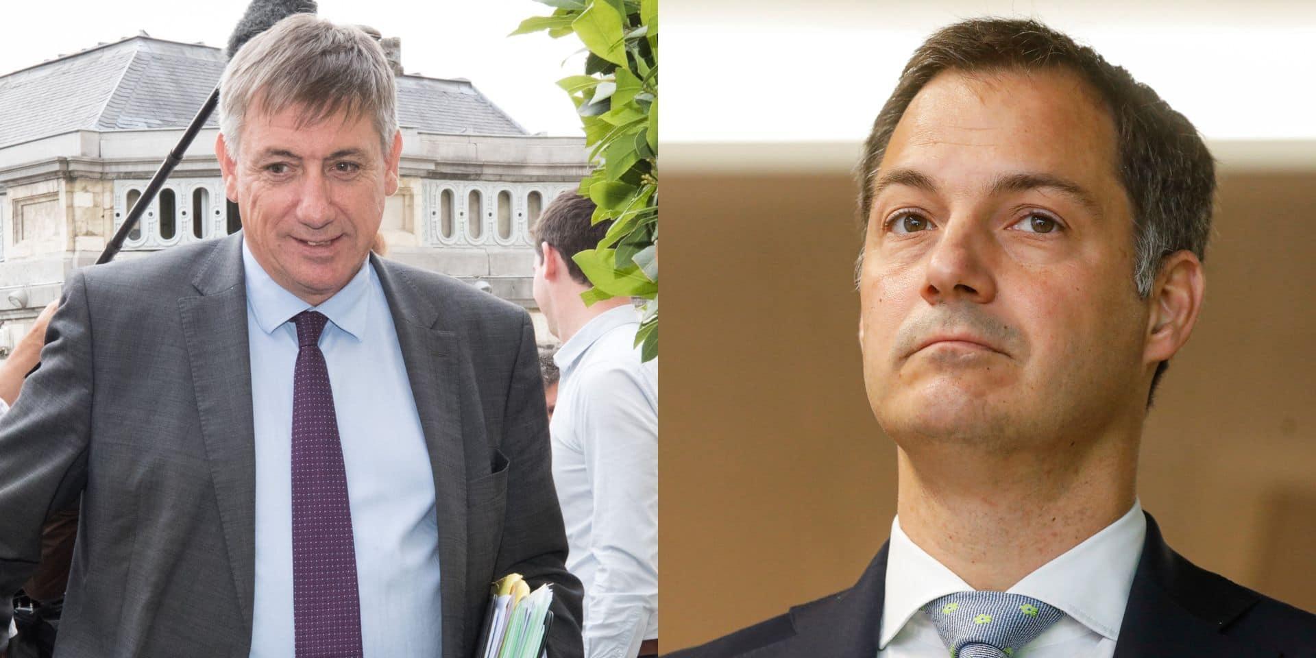 Futur Premier ministre : Jan Jambon out, Alexander De Croo favori pour le 16