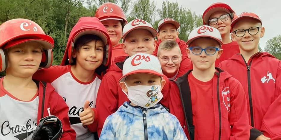 """Des Home Runs à Marche-en-Famenne, les """"Crack's"""" s'éclatent au baseball"""