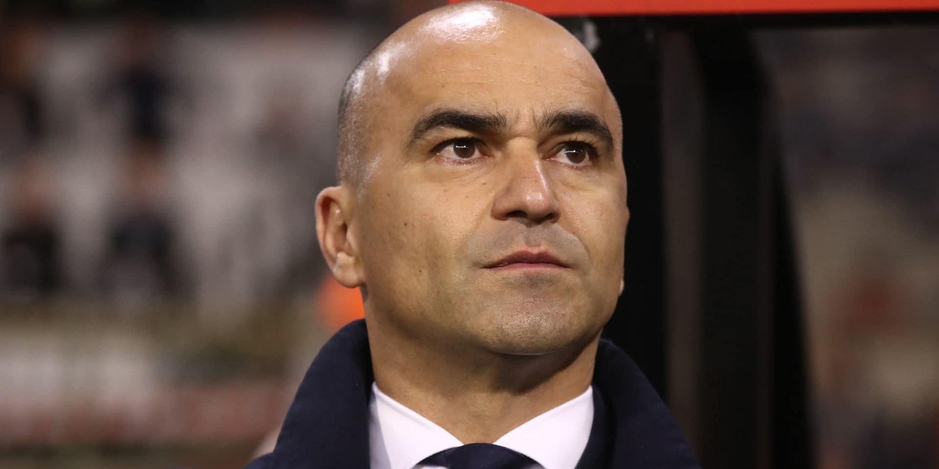 Roberto Martinez annonce sa dernière sélection de l'année vendredi midi