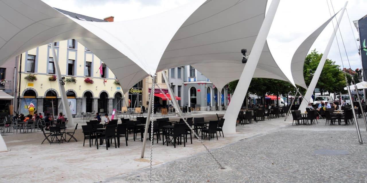 La Louvière: deux cellules vides du centre-ville attendent vos projets !