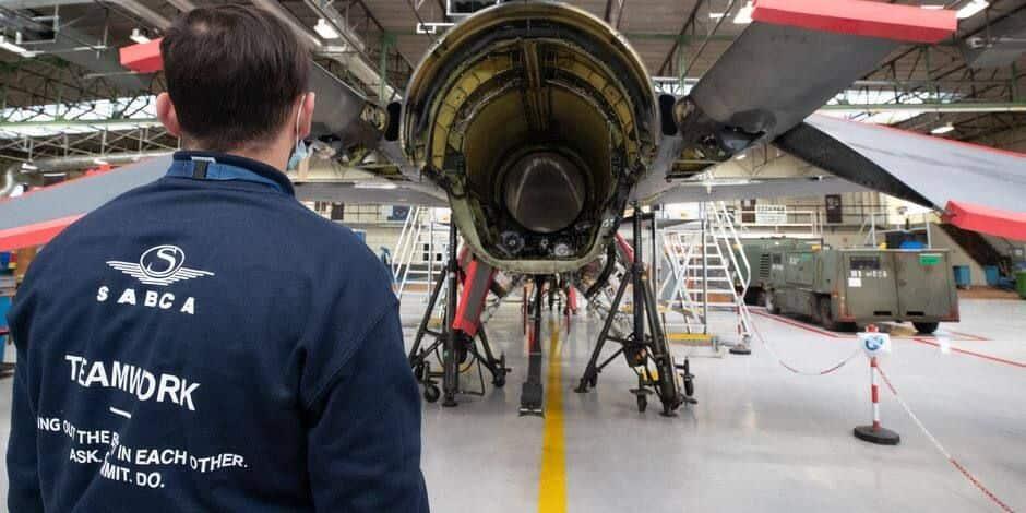 Les F-16 américains en Europe seront entretenus à Gosselies par Sabca