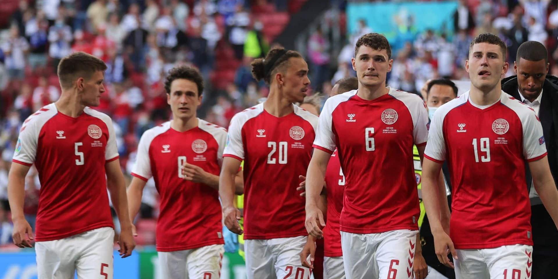 """Les joueurs danois joueront pour Christian Eriksen contre la Belgique : """"Le Danemark est connu pour se serrer les coudes dans l'adversité"""""""