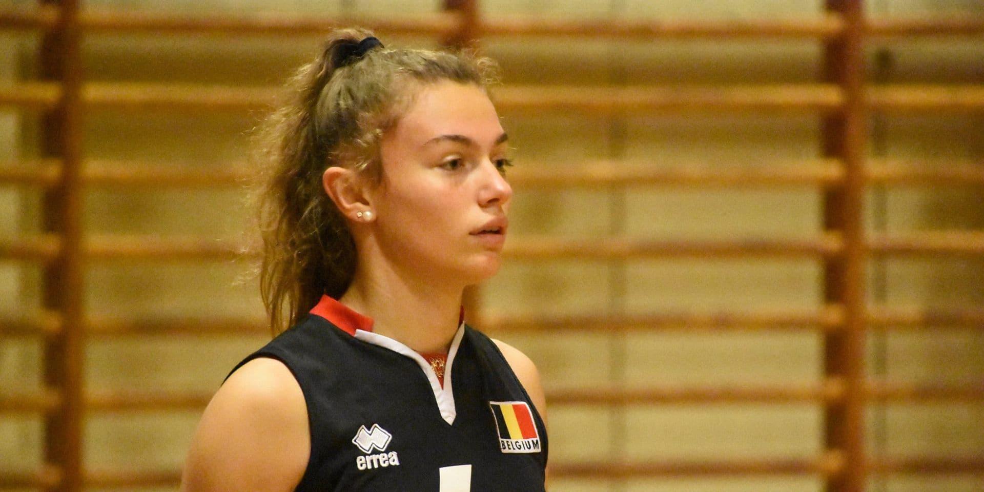 Volley-ball: A 16 ans, Romane Neufkens dispute le Mondial U20
