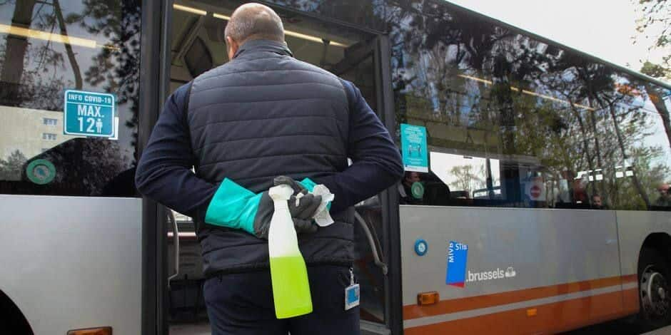 43 employés de la Stib contaminés au Covid-19 entre le 29 septembre et le 6 octobre
